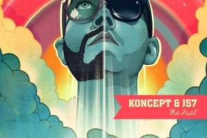 HipHopDX announces the release of KONCEPT & J57's anticipated debut EP The Fuel